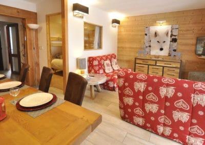 location appartement vers monétier les bains